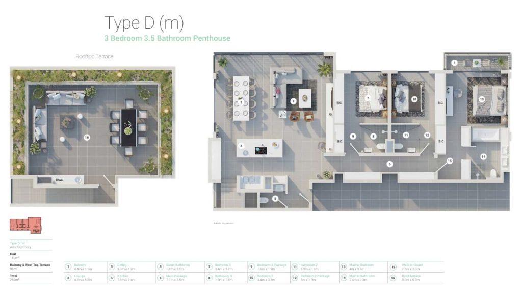 3bed-3-5bath-Type-DM-Penthouse