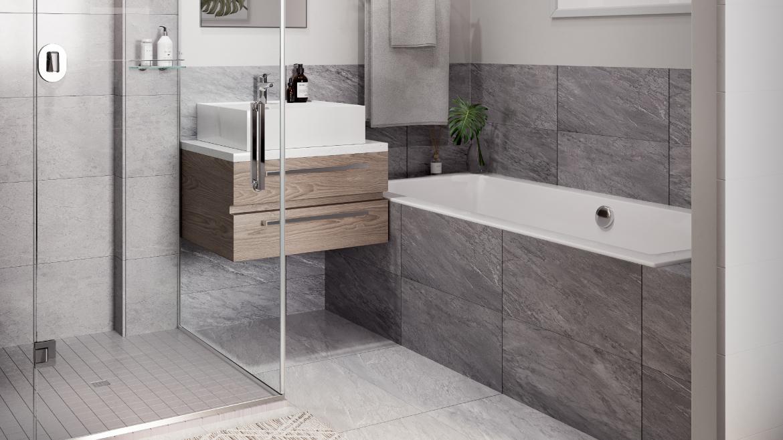 Apartment Main Bathroom Type F