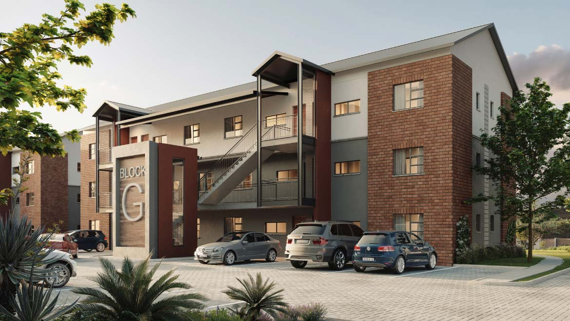 Apartments Back View