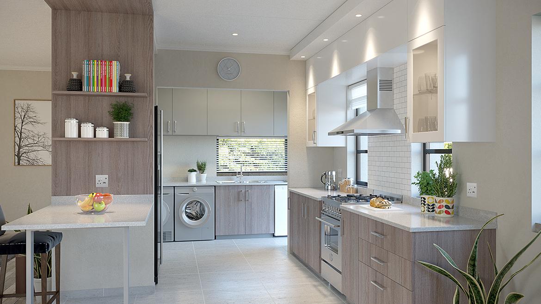 Unit Type B Kitchen